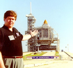 David Black at Cape Canaveral, 2001
