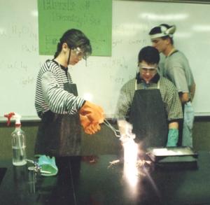 Juab High School students