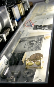 Display of the history of synthetic diamonds at Novatek