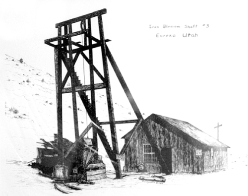 Drawing of Iron Blossom Shaft 3