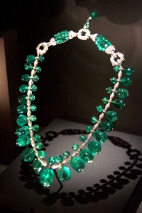 Indian Emerald Necklace from Columbia