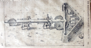Robert Fludd movable battlement