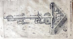 Robert Fludd movable battlement