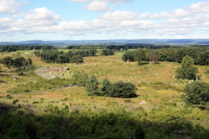 View from Little Round Top, Gettysburg