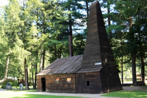 Replica of the original Drake Oil Well