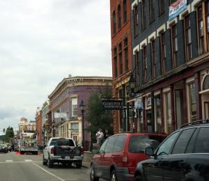 Main St. in Leadville, CO