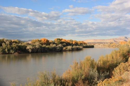 The Green RIver in Green River, Utah