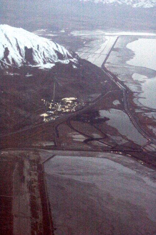 Magna copper smelter