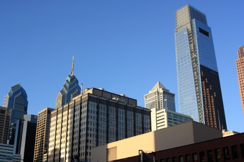 Philly skyscrapers