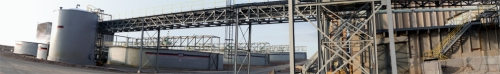 Panorama of the Brush Resources plant
