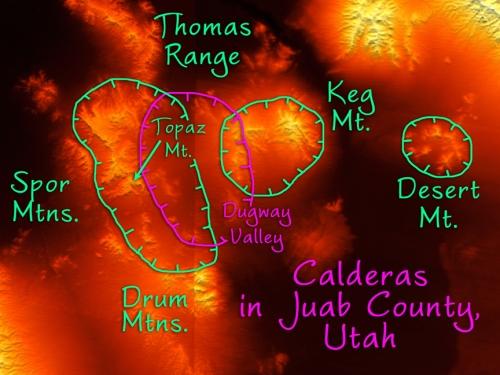Calderas of Juab County