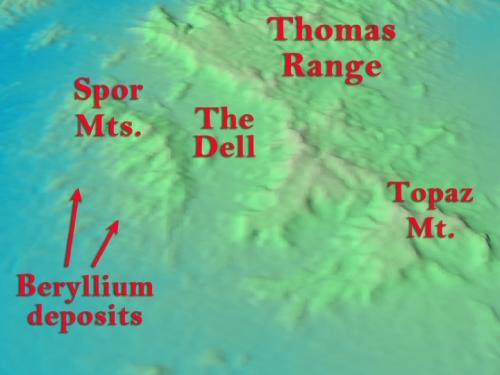 Spor Mt. beryllium deposits