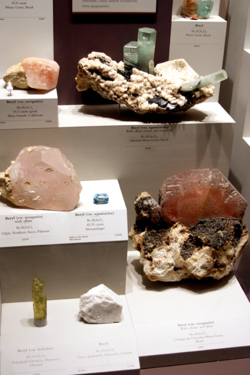 Morganite and heliodor