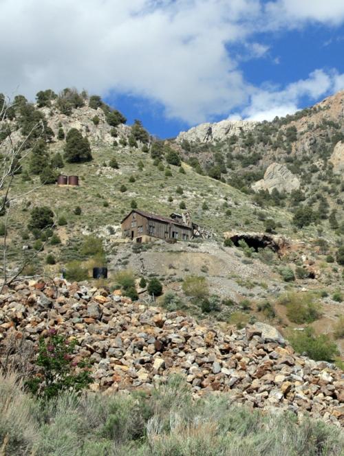 Mine at Mammoth Utah