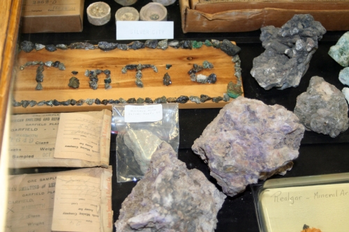 More Tintic ore samples