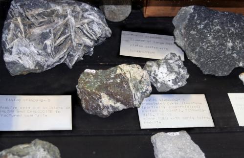 Tintic Standard ore samples