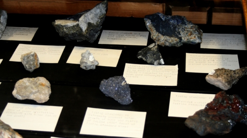 More ore samples from the Tintic Standard Mine