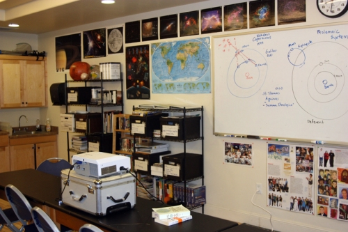 David Black classroom