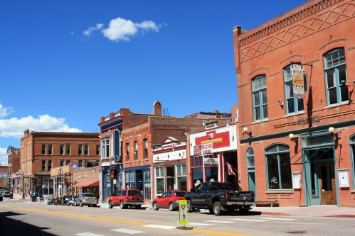 Cripple Creek downtown