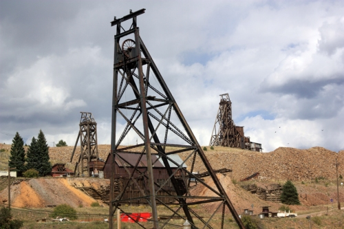 Headframes in Victor