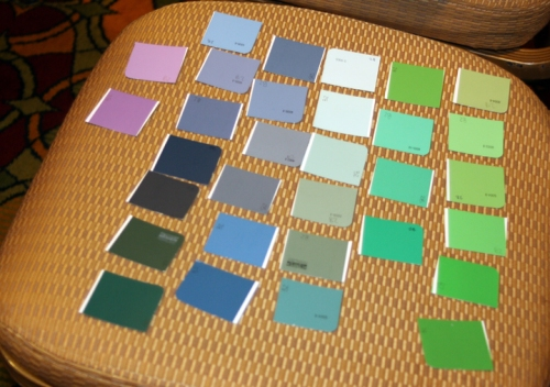Periodic Paint Swatches