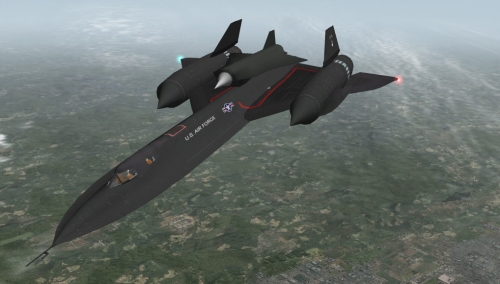Screenshot from X-Plane