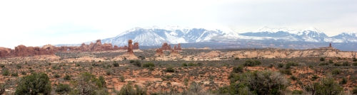 The La Sal Mountains
