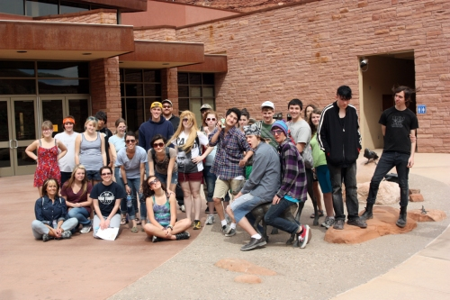 Walden students in Moab