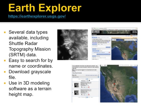 Earth Explorer by USGS