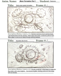 Storyboard on Solar System Formation
