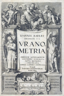 Title page of Uranometria