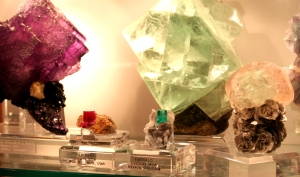 fluorite and emerald