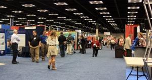 Dealer room at NSTA conference