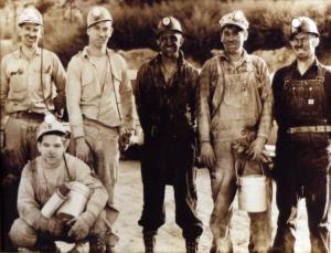 Sunnyside miners 1955