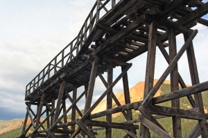 Treasury Tunnel trestle