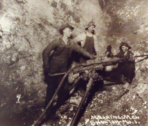 miners using a jackleg