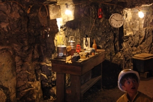 Inside the old hundred mine