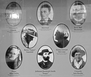 Cast of Characters in Creede, Colorado.