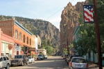Creede notch canyon