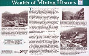 History of mining around Silverton, Colorado.
