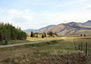 Rio Grande River Valley, on the way to Creede, Colorado.
