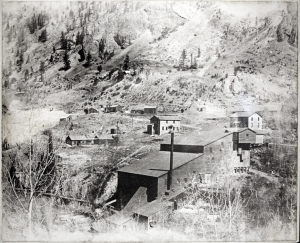 Mining structures in the Lake City area