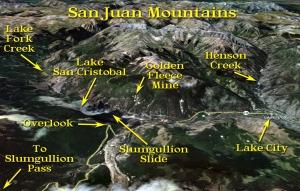 The San Juan Mountains of Southwestern Colorado