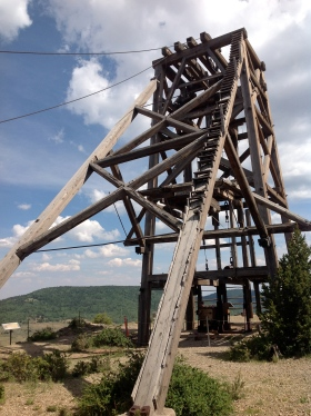 American Eagles Headframe
