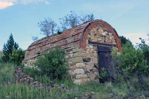 Powder Magazine. The explosives had to be kept separately from the mines to prevent accidental destruction.
