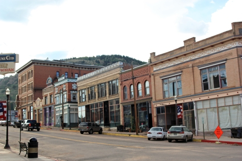 Third Street in Victor, Colorado.
