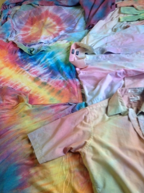 Fall 2014 tie dye samples