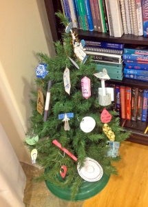 A ChemisTree, complete with Elemental Ornaments.