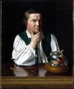 Paul Revere: Midnight rider, silversmith, patriot, and copper magnate.