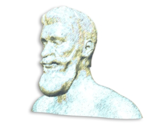 Empedocles with added Photoshop effects.